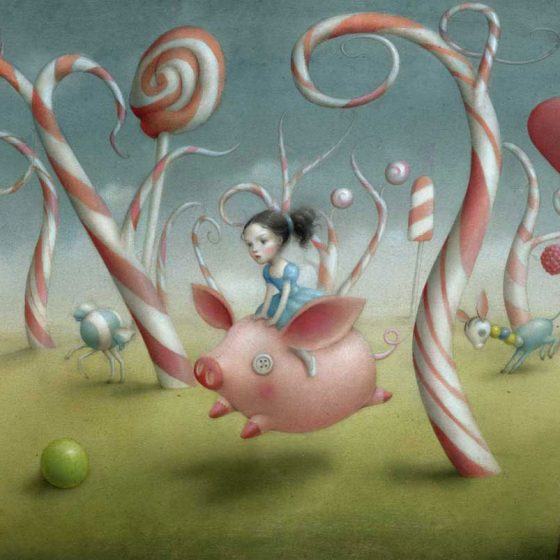 Candy forest, Nicoletta Ceccoli