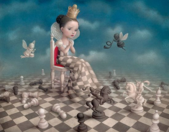 For your eyes only, Nicoletta Ceccoli