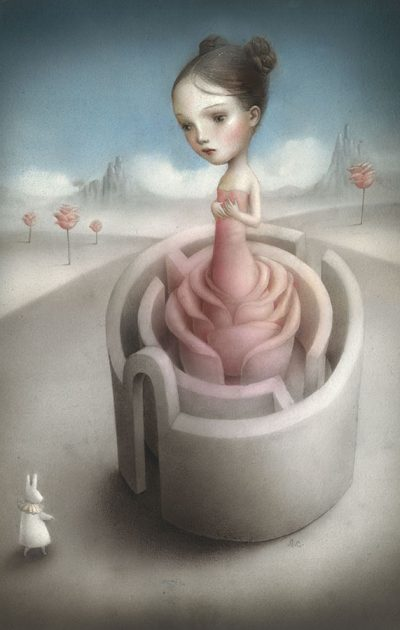 Rose red, Nicoletta Ceccoli
