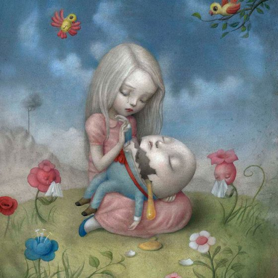 Too fragile, Nicoletta Ceccoli
